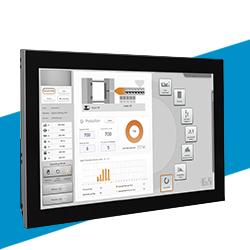 Visualización pantalla sistemas de control marca B&R