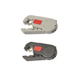Cortador flexómetro color negro y gris