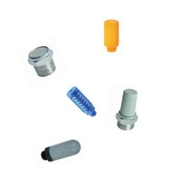 Silenciadores de platicos varios colores marca dewit